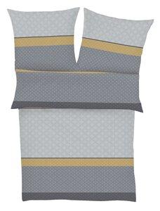 81 Bugatti Streifen grau/senf M024144-00000