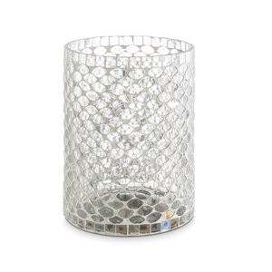 """3365553-00000 Teelichtglas """"Mosaik"""""""