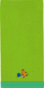 """3136603-00000 Duschtuch """"Die Maus"""" grün"""