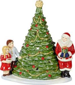 3352600-00000 Santa am Baum 20x17x23 cm