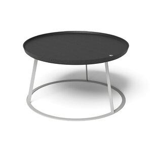 3613085-00001 Couchtisch Round Weiß/Eiche