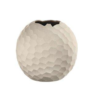 2309503-00000 Kugel-Vase Carve m.Relief