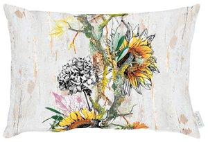 3545631-00000 Kissen gef. 35x50 Sonnenblumen