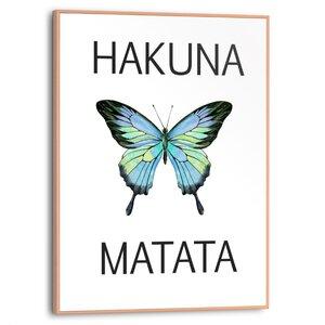 3322849-00000 Hakuna Matata 30x40 cm