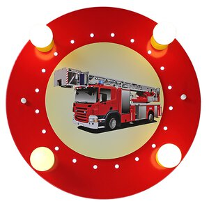 """3107638-00000 Deckenleuchte """"Feuerwehrauto"""""""