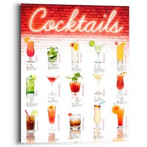 2521360-00000 Cocktails,German 40x50 cm