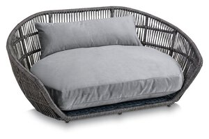 3567567-00000 Hundesofa Prado Oxford Grey