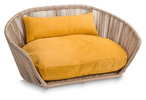 3567557-00000 Hundesofa Vogue Tudor Gold