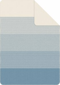 3579410-00000 Decke Salerno Jacquard blau