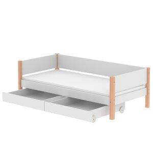 48 Flexa White Einzelbett mit Schubladen M021209-00000