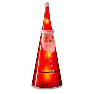 3545097-00000 Nikolaus beleuchtet rot/weiß