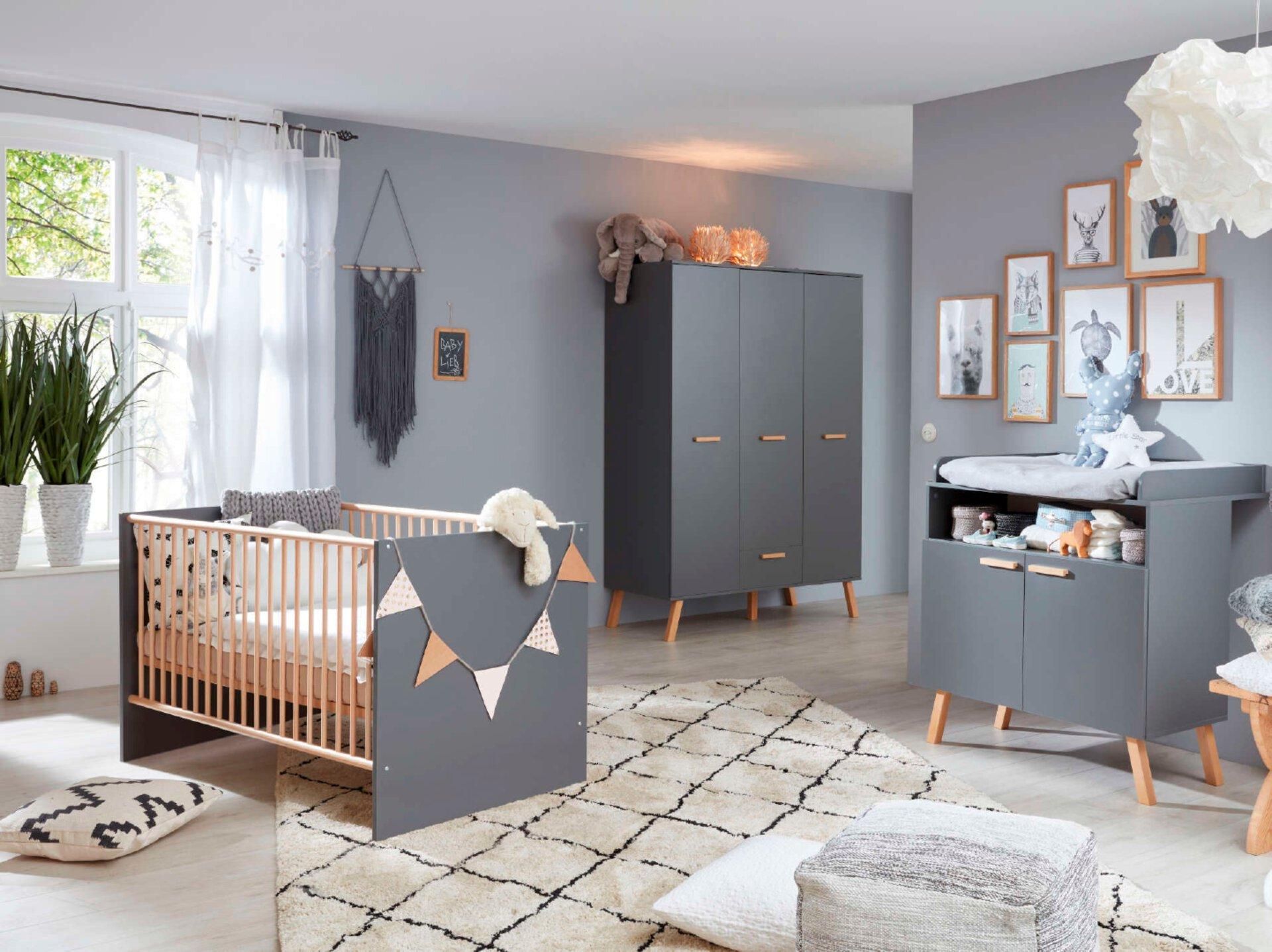 Babyzimmer Serie Mats von Trendteam