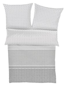 81 s.Oliver Grafisch grau/weiß