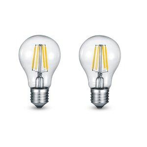 3094118-00000 E27/6W LED FILA BIRNE 2er klar