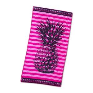"3462634-00000 Strandtuch ""Ananas"" pink"
