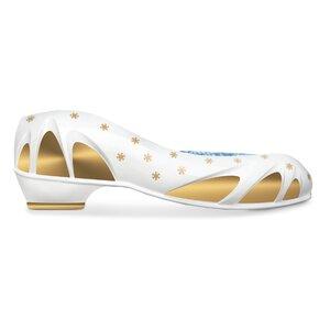 3196303-00000 Schuhbett Lady weiß/gold