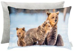 3545861-00000 035045 Kissen gef.Bärenfamilie