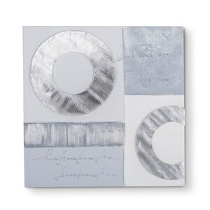 3133004-00000 Original Abstrakt Ölfarbe grau