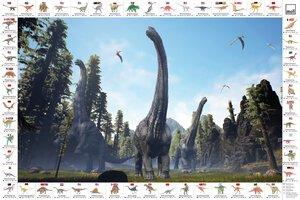 3535654-00001 Schreibunterlage Dinos