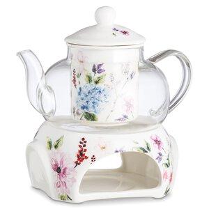 3285090-00000 Teeset mit Kanne und Stövchen