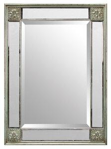 "3563035-00000 Rahmenspiegel ""Cäsar Silber"""