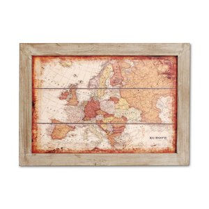 3216026-00000 Wanddeko Europa