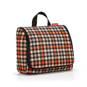 3369575-00000 toiletbag XL glencheck red