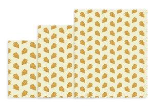 3479008-00000 Bienenwachstuch Käsedekor