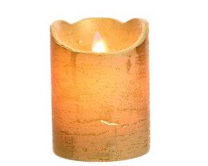 3547513-00000 Kerze mit Timer gold