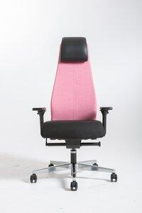 49 Atlas-Uni York Drehstuhl Rücken rosa M027463-00000