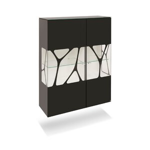 40 10 Cube Highboard schwarz Genetics 2GT 110x143 M010944-00000