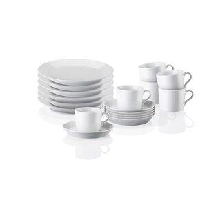 3265171-00000 Kaffeeserv. 18-tlg.Tric Weiss
