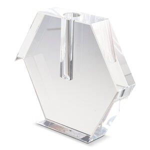3241598-00000 Vase Kristallglas klar