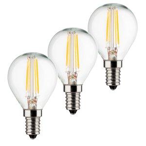3300851-00000 E14/4W LED Tropfen 3er-Pack