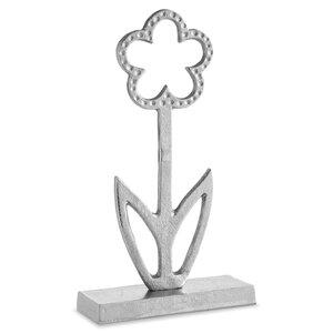 3464048-00000 Blume auf Fuß silber