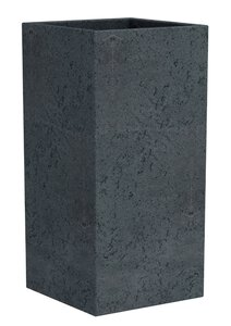 3347526-00000 Pflanzgefäß C-Cube Stony Black