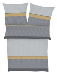 81 Bugatti Streifen grau/senf