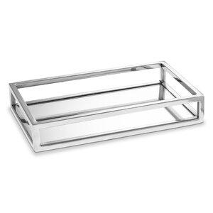 3253096-00000 Tablett Edelstahl mit Spiegel