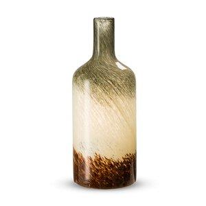 53 - Vase Bottle cream/braun