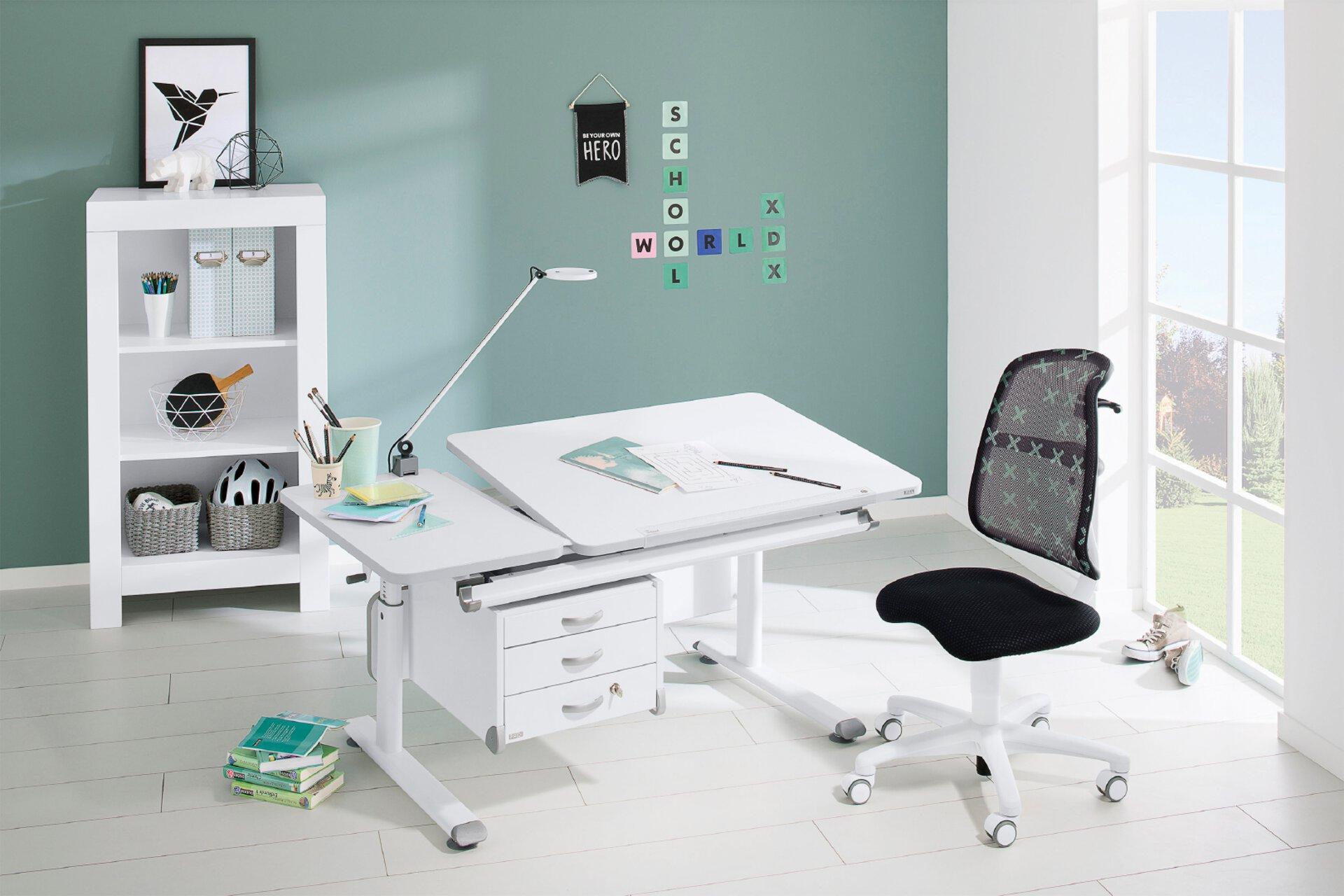 Schreibtisch von Paidi in weiß