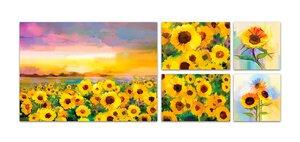 3483378-00000 Blumen / Makro - Sunflowers Se