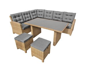 3000130-00000 Barolo Lounge Set 5tlg.
