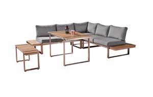 3586502-00000 Dining-Lounge 5tlg. grau