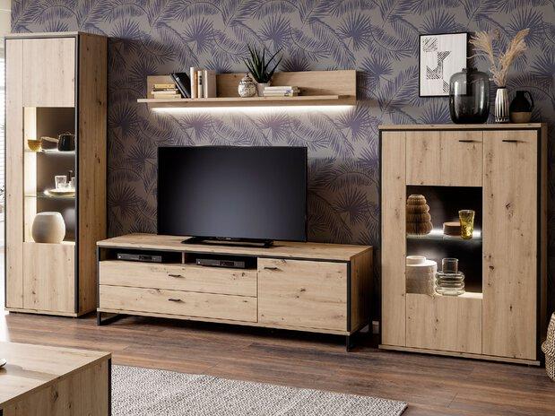 Wohnzimmer Wohnwand Buenos Aires MCA furniture