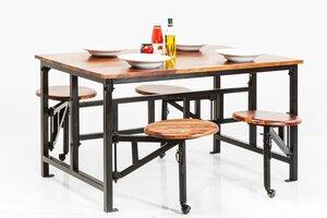 3038183-00000 Tisch mit Hocker